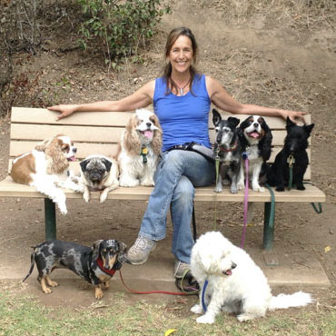 Sara Munro with Friends